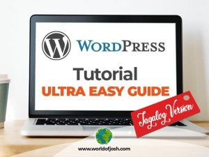 wordpress tutorial tagalog version